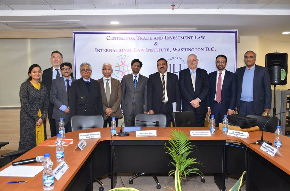 Intensive Training Programme on Trade and Investment Law
