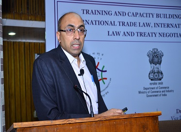 Negotiation Workshop on Trade in Goods by Mr. Bipin Menon, Director (Foreign Trade), Doc