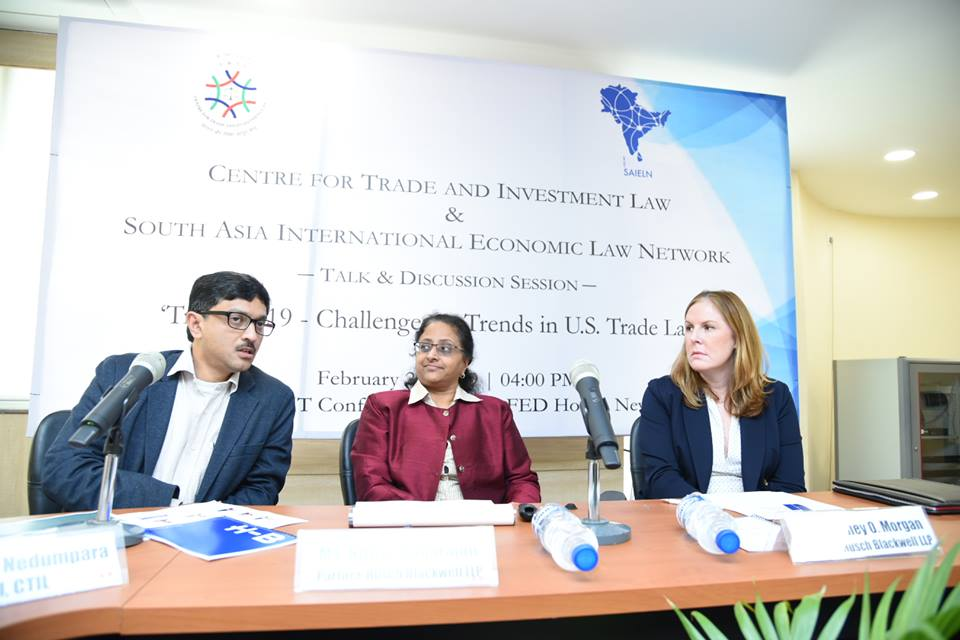 CTIL  SAIELN joint session Trade 2019
