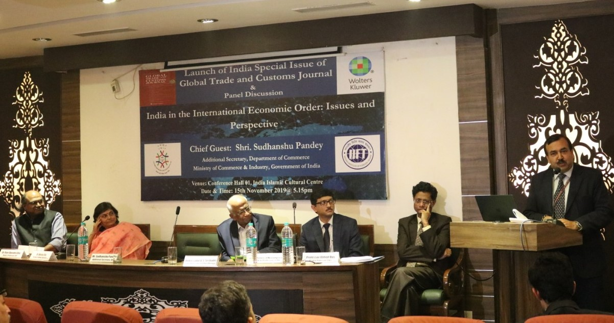 Keynote address by Mr. Sudhanshu Pandey during Journal Launch