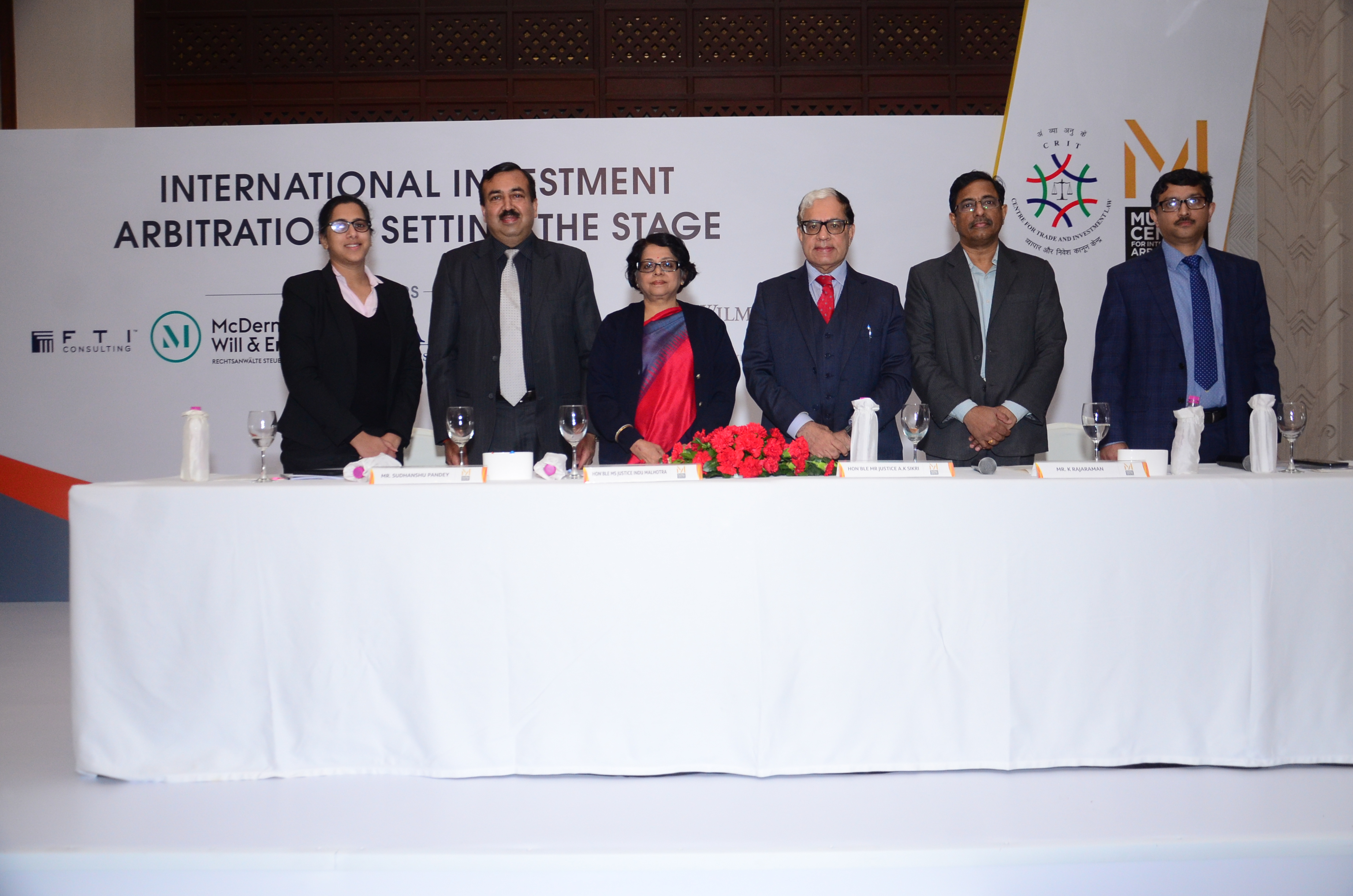 Conference on International Investment Arbitration organised by MCIA and CTIL